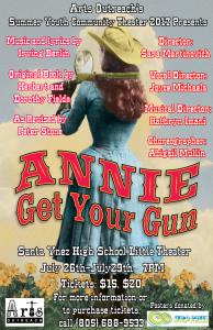 Annie Get Your Gun Poster 11x17